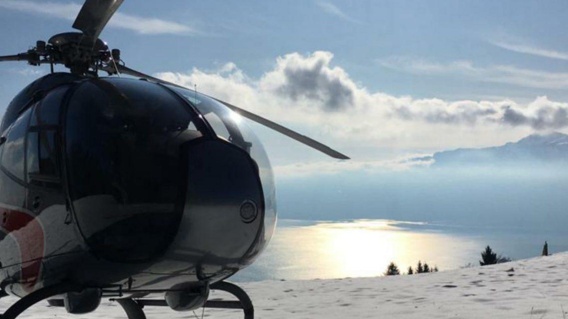 Hélicoptère à Lausanne