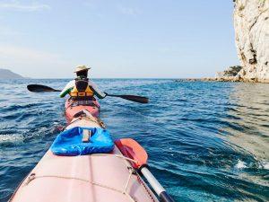 Kayak des mers à Saint Sébastien