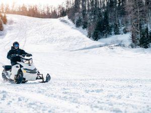 Moto neige en Bulgarie