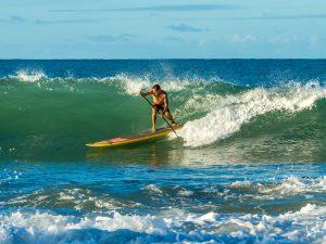 Paddle surf à Saint Sébastien