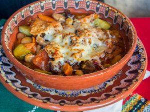 Repas traditionnel Bulgare à Sofia