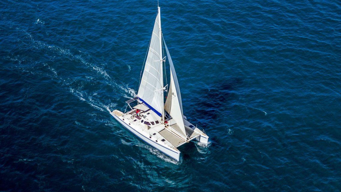 Catamaran à Barcelone