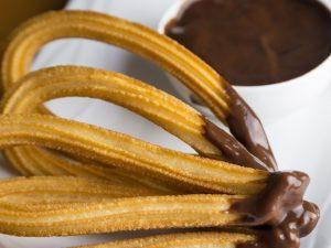 Churros au chocolat à Barcelone