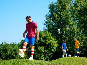 Foot golf à Barcelone