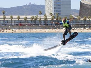 Hoverboard à Barcelone