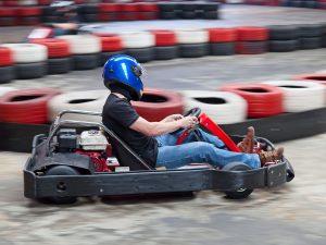 Karting indoor à Barcelone