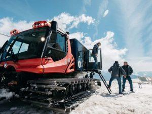 Snow bus au glacier 3000