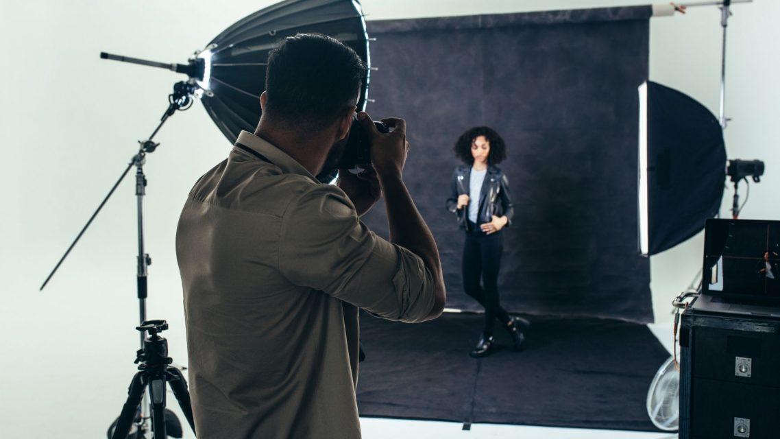 Shooting photo studio à Barcelone