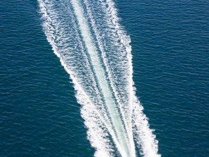 Speed boat à Barcelone