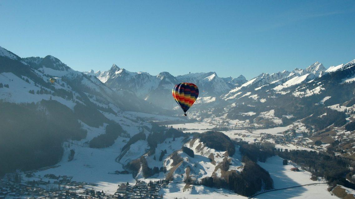 Montgolfière en Suisse