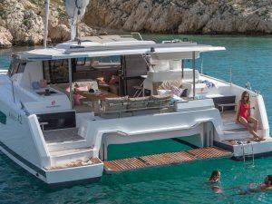 Croisière en catamaran à Ibiza