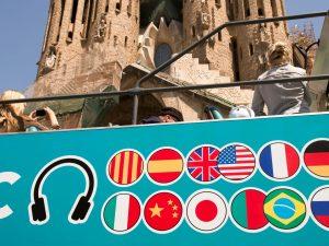 Tour en bus en plein air à Barcelone