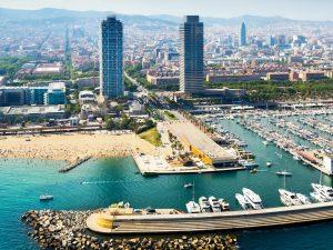 Tour en hélicoptère à Barcelone