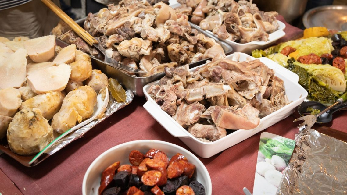 Diner traditionnel portugais